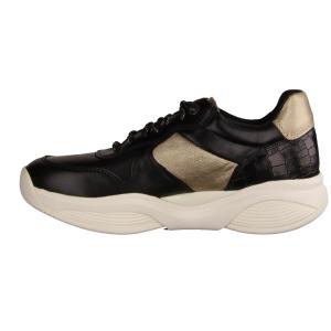 Xsensible SWX17 Black/Gold (schwarz) - sportlicher Schnürschuh