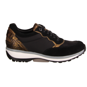 Xsensible Carrara Black (schwarz) - sportlicher Schnürschuh