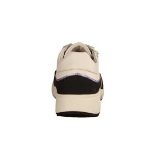 Xsensible Lima White/Navy (weiß) - sportlicher Schnürschuh