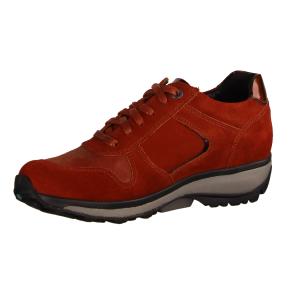 Xsensible Jersey Red Kerala (rot) - sportlicher Schnürschuh