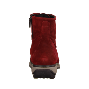 Xsensible Milton Red Birma (rot) - ungefütterte Stiefelette